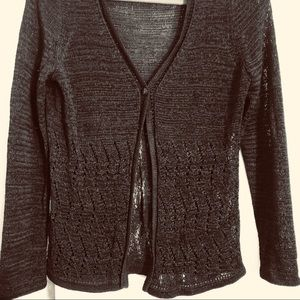 Dana Buchman Knit Cardigan Small